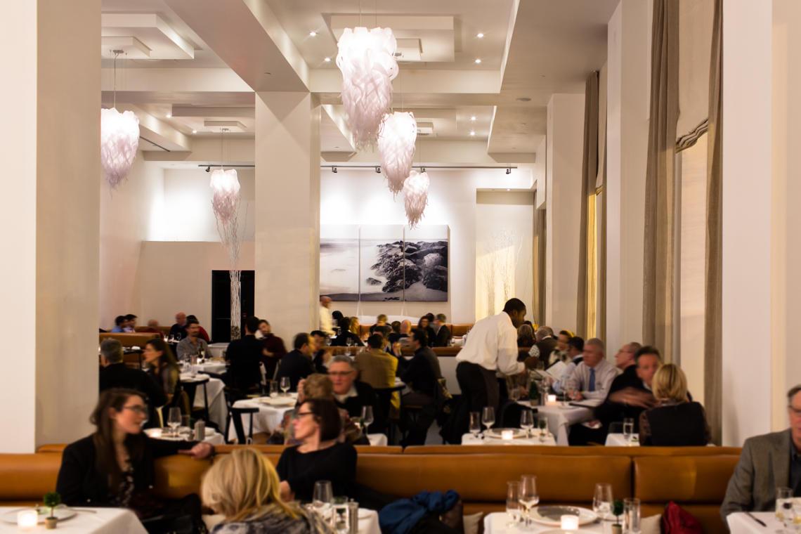 Lightart icicle chandelier ostra restaurant arubaitofo Gallery
