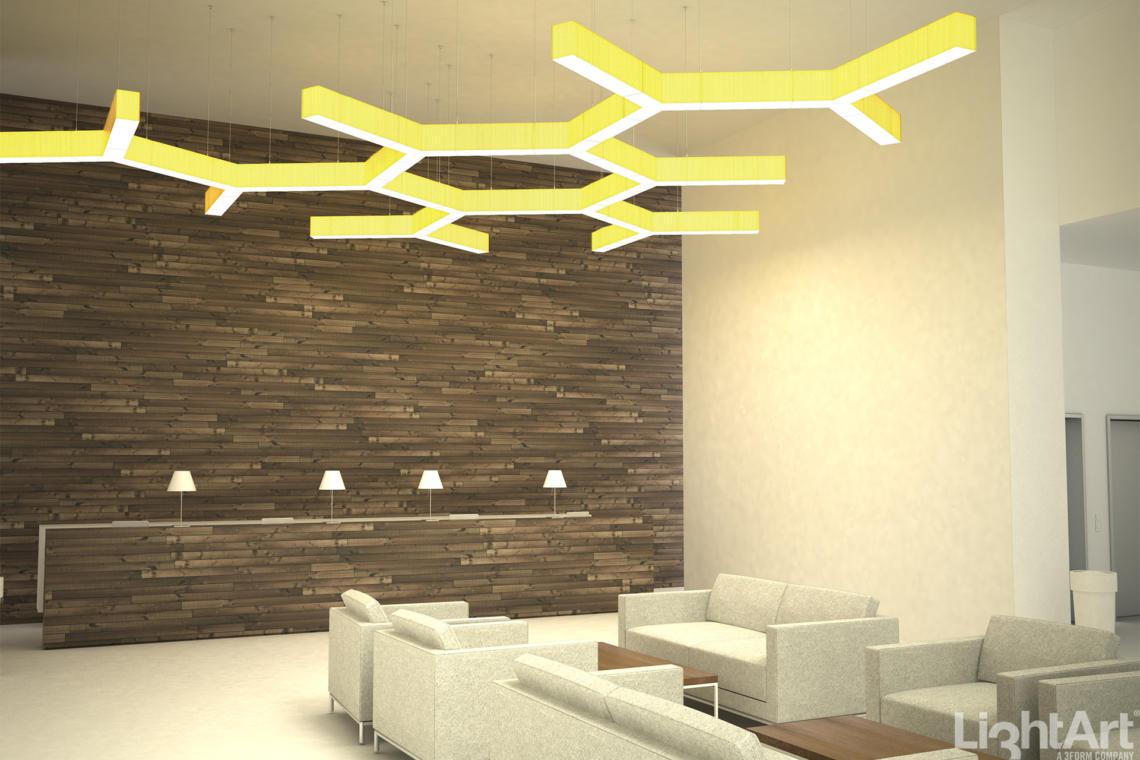 LightArt | LA2 Connected //Shapes - Honeycomb Concept