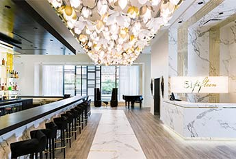 51 Fifteen Restaurant | Blossom Pendants