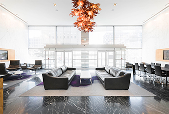 300 Saint Paul Place | Botanical Blossom Chandelier