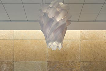 Element Chandelier - Healthcare Lobby