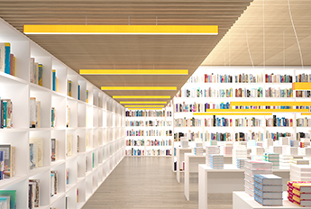LA2 Slim Beam - Bookstore