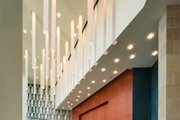 Custom Casper Pendants - Tobin Center for Performing Arts