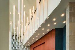 Custom Casper Pendants - Tobin Center for Performing Arts