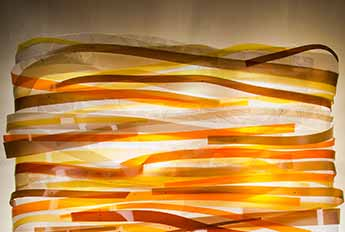 Ribbon Wall Sculpture
