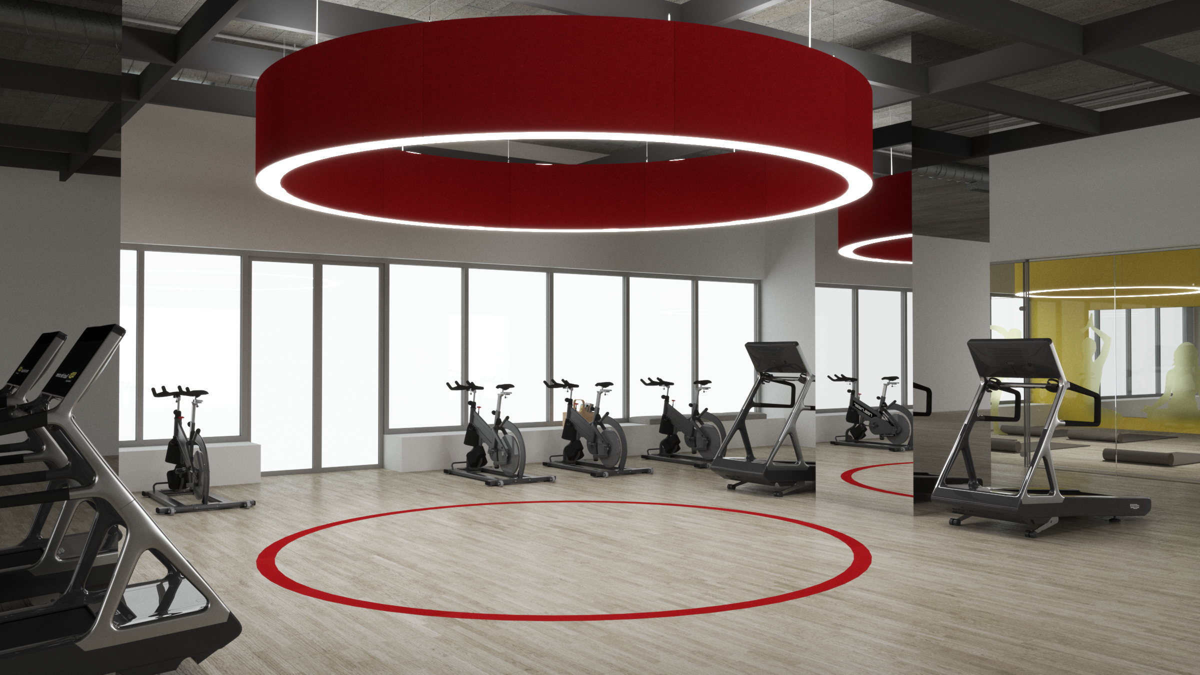 Acoustic Ring | Gym