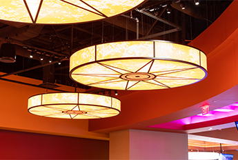 Shoshone-Bannock Casino | Custom Lighting