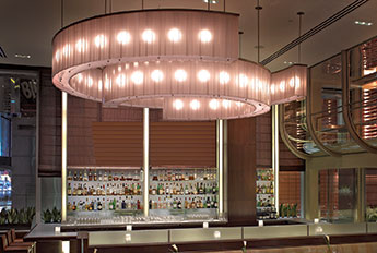 Custom Chandelier - Aureole Bar