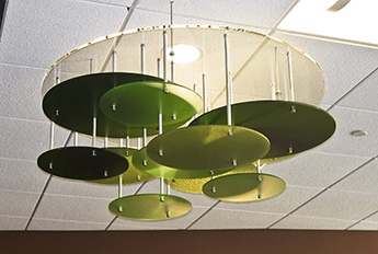 Ceiling Application - University