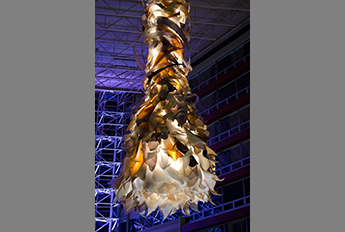 Bouquet Chandelier - Hyatt Hotel