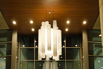 Cylinder Chandelier - Sharp Mary Birch Hospital