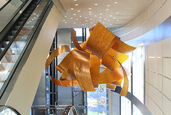 Movement RIbbon Sculpture