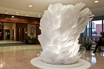 Nebraska Lily Sculpture - Hospital